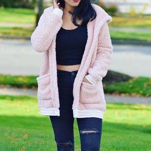 Cozy jackets, oversized jacket, teddy jacket, soft